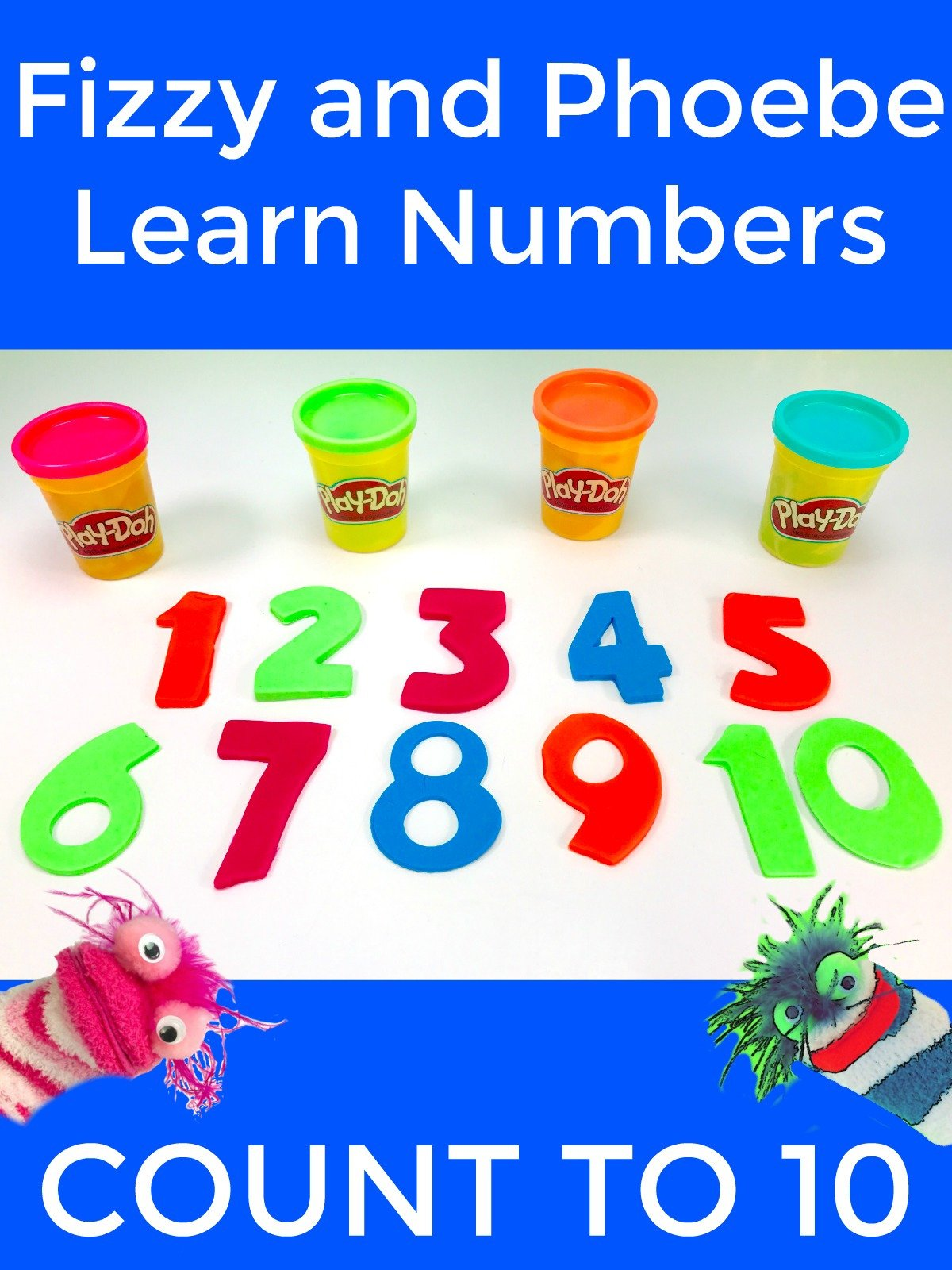 Fizzy and Phoebe Learn Numbers Counting to Ten on Amazon Prime Instant Video UK