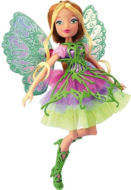 Winx - 1970 - Poupée Mannequin - Butterflix Fairy - Flora
