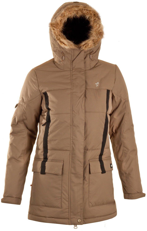 Twentyfour Damen Jacke Seven Warmer mit Abnehmbarem Kunstpelz günstig