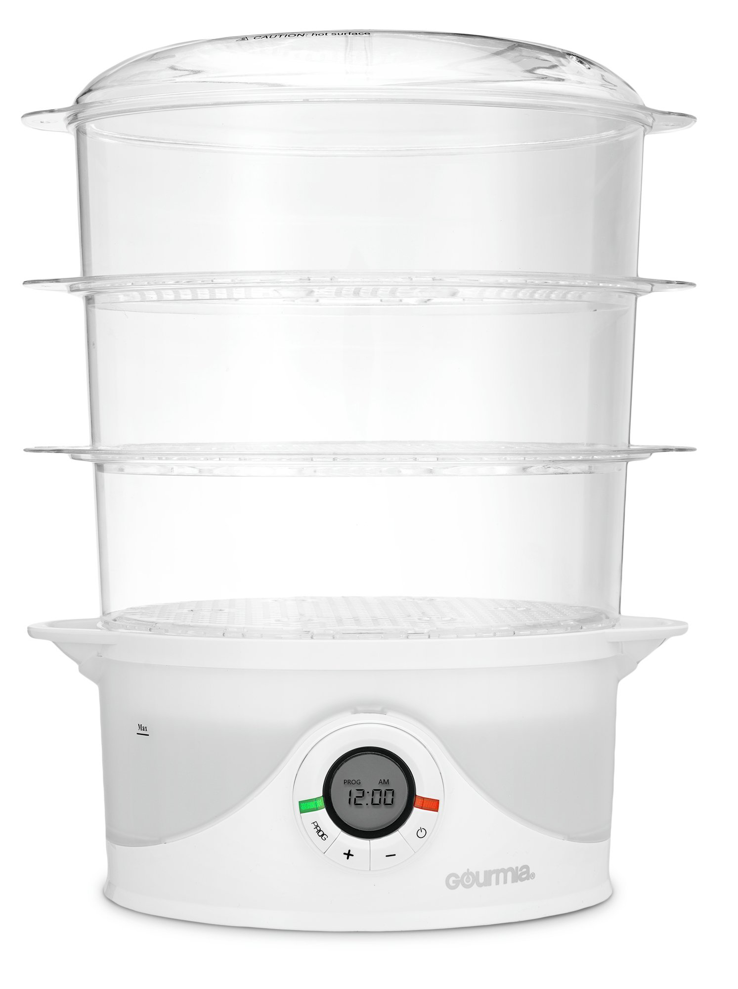 Electronic Food Steamer ~ Gourmia gfs steamtower electronic digital tier