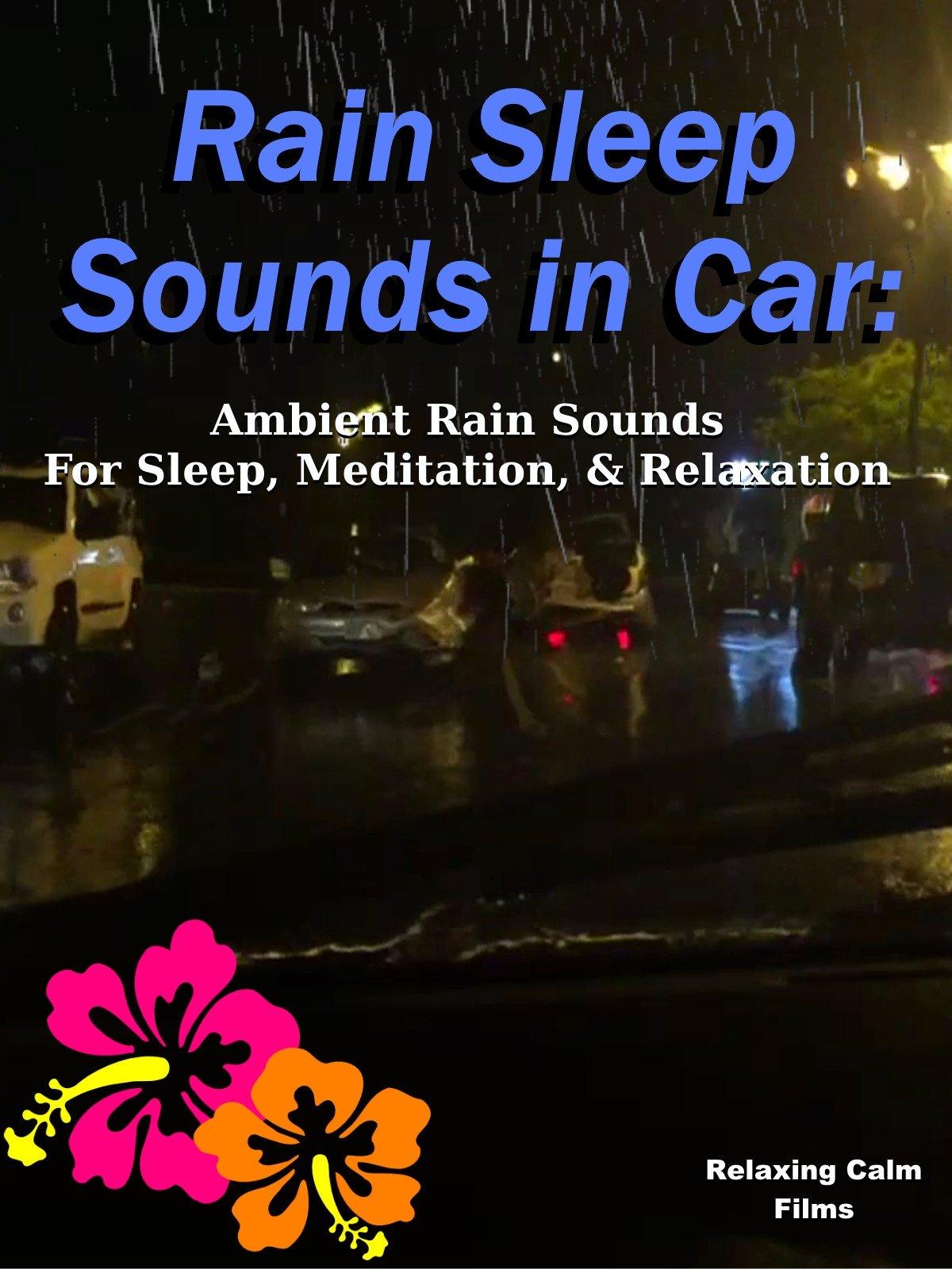 Rain Sleep Sounds in Car: Ambient Rain Sounds for Sleep, Meditation, & Relaxation