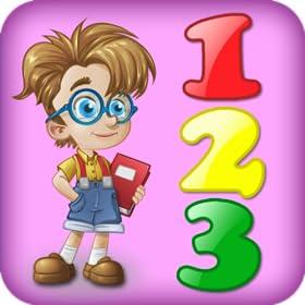 Apprendre chiffres - 3 jeux en 1 pour les enfants avec des chiffres et des math�matiques