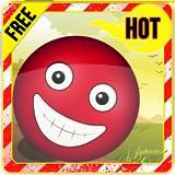 La balle rouge drôle