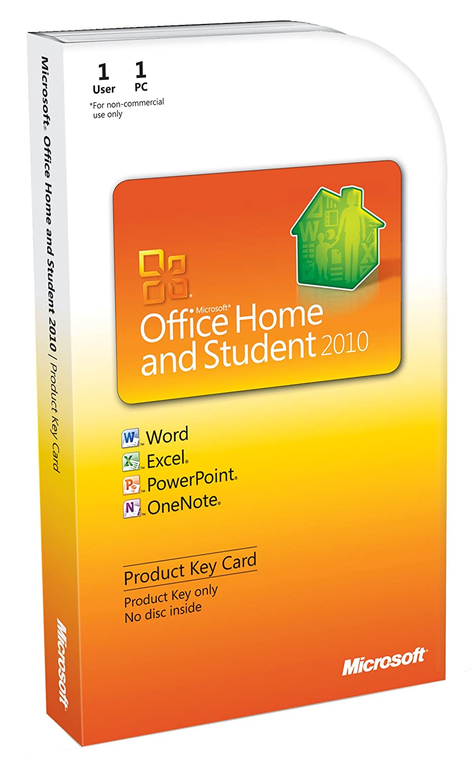 Microsoft Office Home and Student 2010 PKC