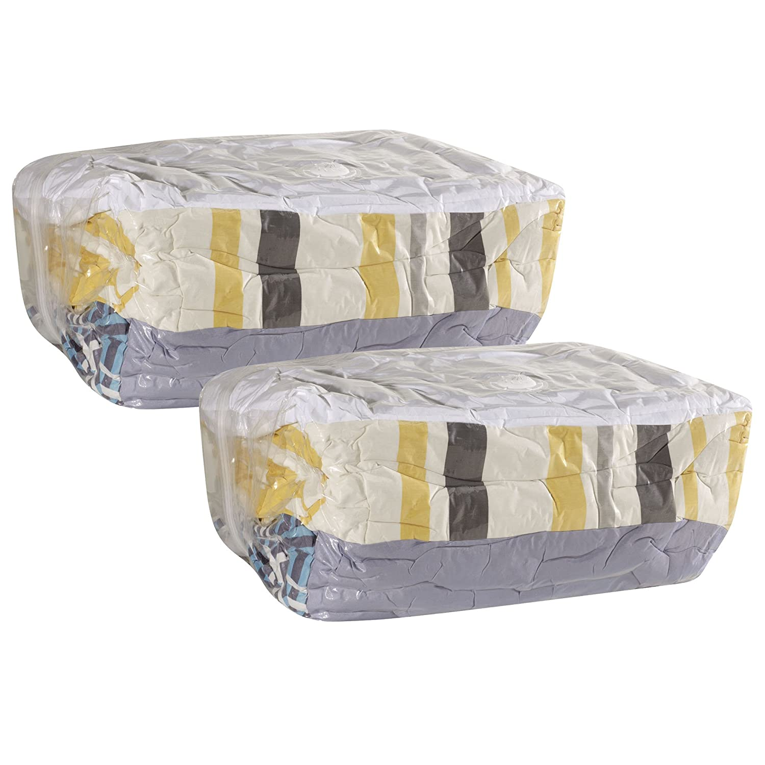 household essentials mightystor cube vacuum storage bags. Black Bedroom Furniture Sets. Home Design Ideas