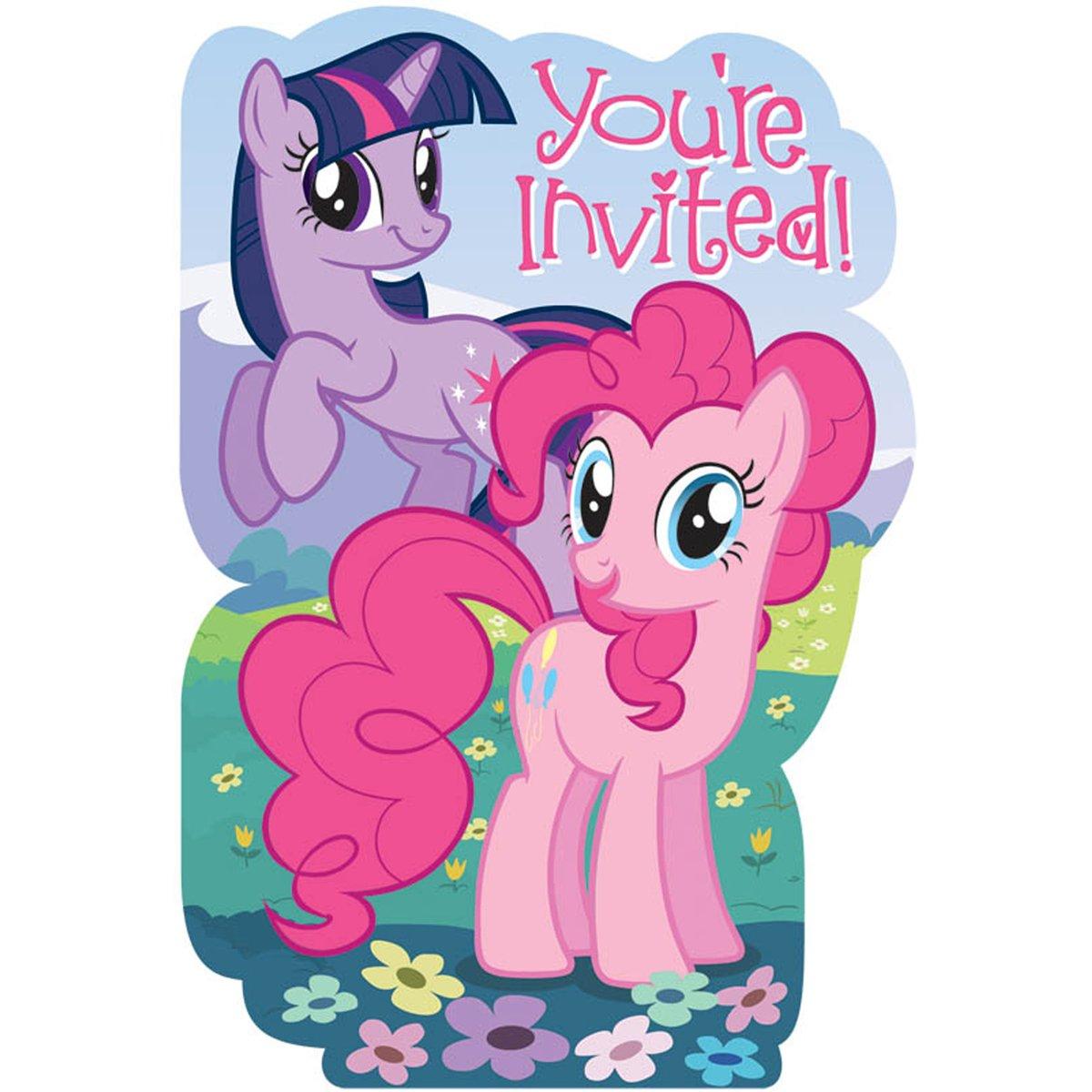 My Little Pony Birthday Cards and Invitations | Birthday Girls Wikii