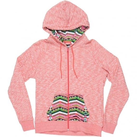 Neff Womens Malibu Hoody Zip Sweatshirt Sweater