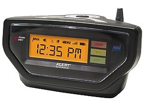 Alert Works EAR-10 Weather Alert All Hazard Radio (Black)