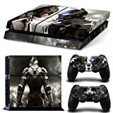 EBTY-Dreams Inc. - Sony Playstation 4 (PS4) - Batman Arkham Knight DC Universe Video Game Vinyl Skin Sticker Decal Protector