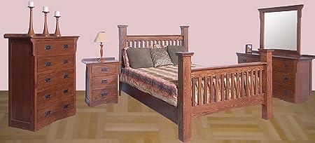 Forest Designs Arts & Crafts Beveled Mirror for Dressers: 38W x 38H (No Bed, Chest, Dresser or Nightstand) 38w x 38h Auburn Alder
