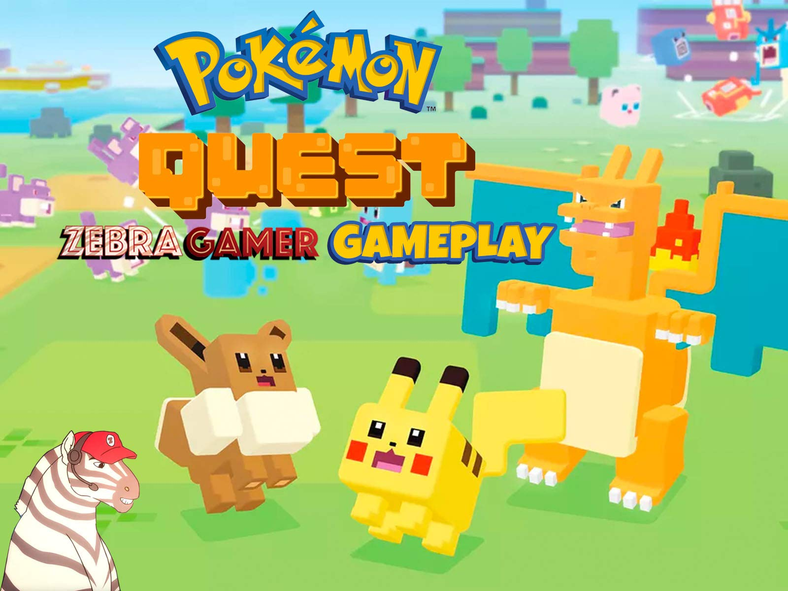 Clip: Pokémon Quest Gameplay - Zebra Gamer - Season 1