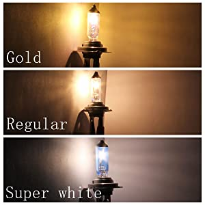 881 PGJ13 12V 27W Super White Halogen Xenon Filled Auto Fog Bulb (Package of 4) (Color: White)