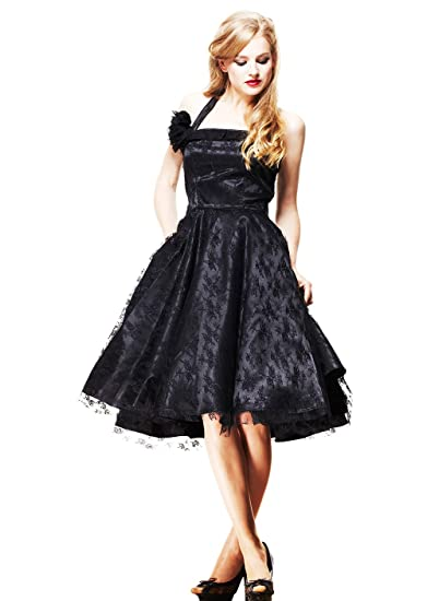 f86cb977c965 Hell Bunny Plus Size Victorian Gothic Lace Overlay Dress