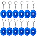 Retractable Tape Measure - 12-Pack Soft Tailor Tape Measure with Push-Button, Double-Sided Sewing Tape, Blue, 60 Inches (Color: Blue)