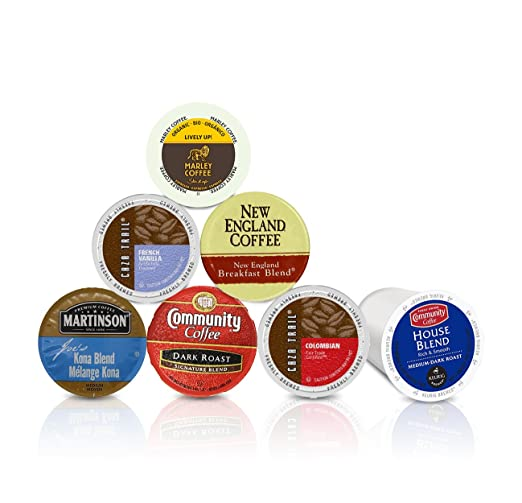 Single Cup Coffee Pods Sample Box