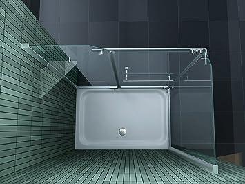 cabine de douche enco 120 120 x 80 cm sans sans bac bricolage m57. Black Bedroom Furniture Sets. Home Design Ideas