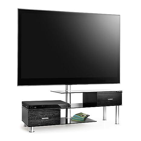 Auna tavolo TV con supporto LCD nero