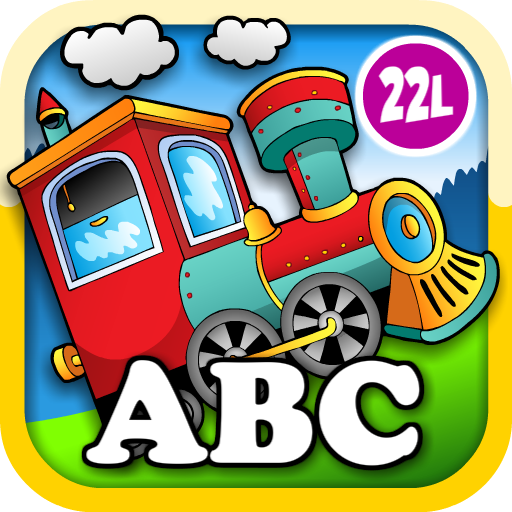 Kids Animal Train: Preschool And Kindegarten Learning Matching And Reading Adventure - Abc First Word Educational Games For Toddler Loves Farm And Zoo Animals & Colors (Abby Monkey® Edition) front-137508