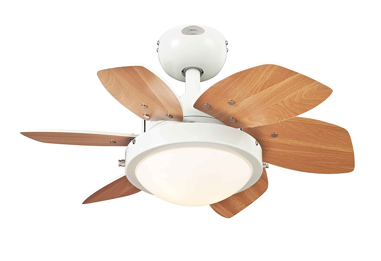 westinghouse lighting 7241740 a deckenventilatoren mit beleuchtung metall 17 w silber. Black Bedroom Furniture Sets. Home Design Ideas