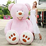 YXCSELL Giant Teddy Bear Softly Plush With Big Footprints Animal Toys Valentine's Day Birthday Thankgiving Day Christmas Presents Gifts 51