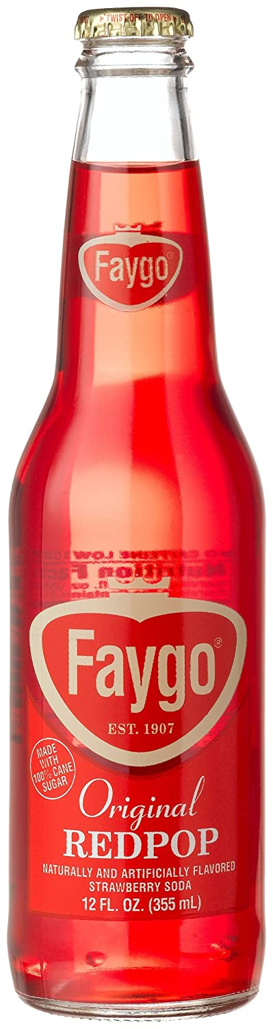 Faygo Red Pop Strawberry soda