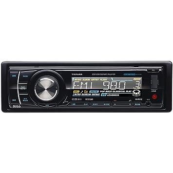 BOSS Audio 752UAB In Dash Single Din Detachable CD USB SD MP3 Player