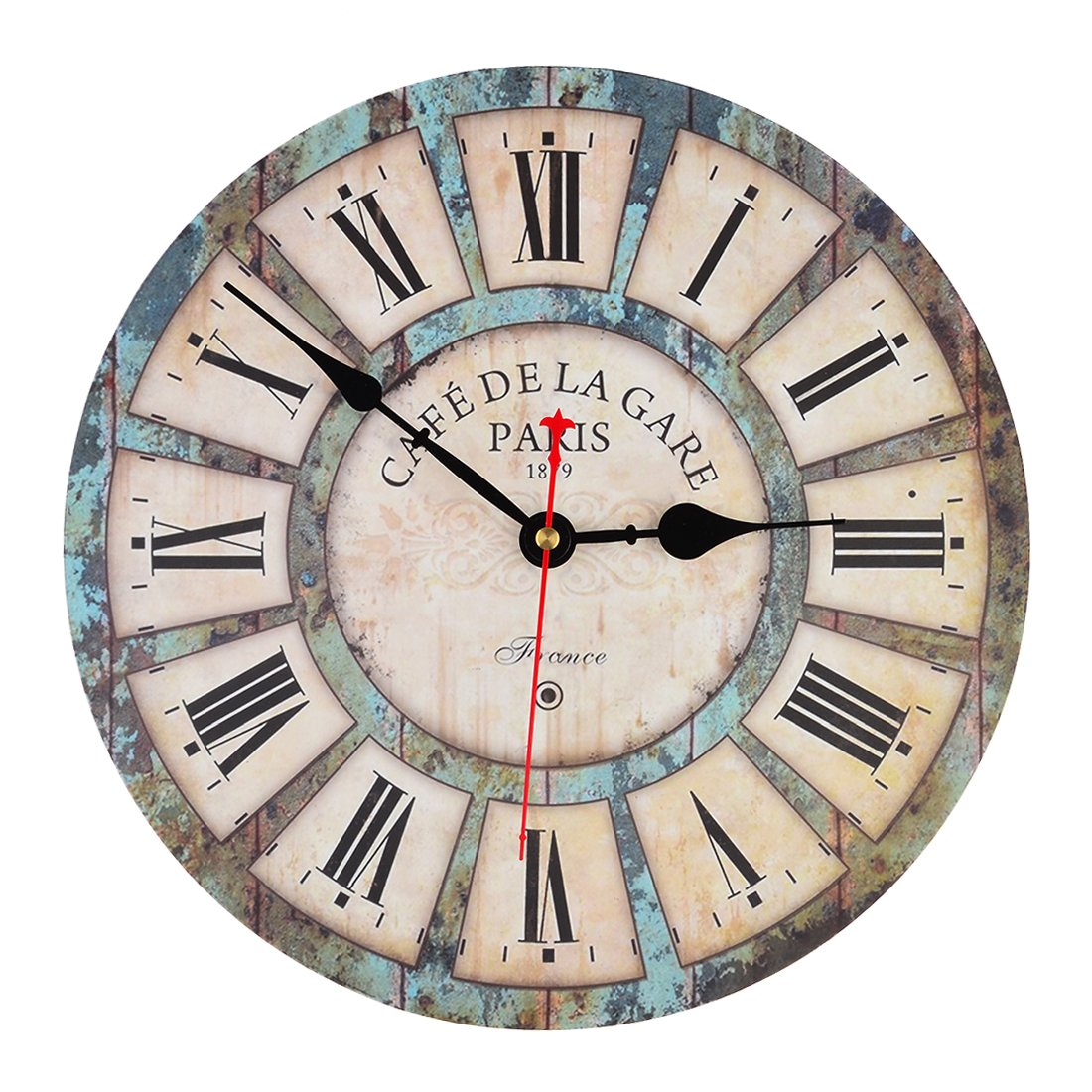 Wall Clocks Petforu 12 Inch Vintage France Paris French