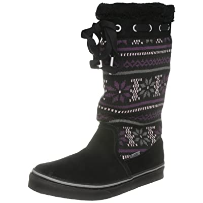 Vans Marley Knit Snowflake Suede Winter Boots
