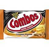 COMBOS Cheddar Cheese Pretzel Baked Snacks 1.8-Ounce Bag (Tamaño: 1.8-Ounce Bag 18-Count Box)