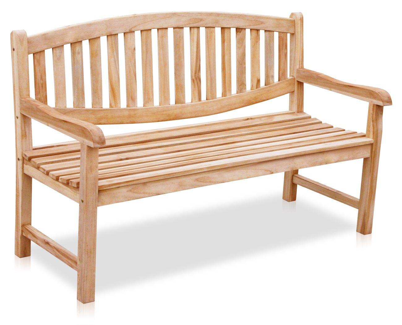 kmh 3 sitzer gartenbank newcastle echt teak. Black Bedroom Furniture Sets. Home Design Ideas