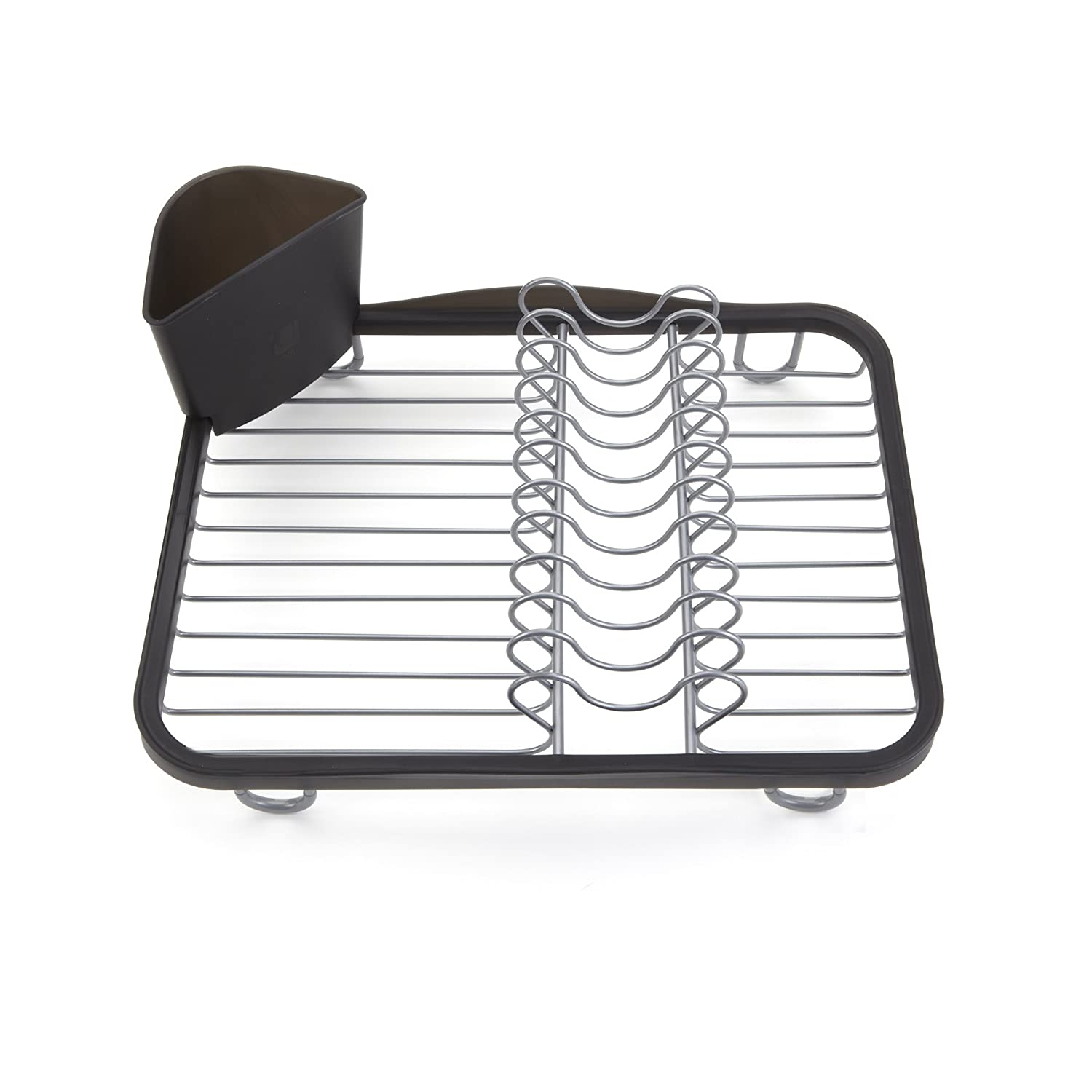 Wire dish drip dry rack sink grid utensil drainer movable utensil basket kitchen - Kitchen sink drying rack ...