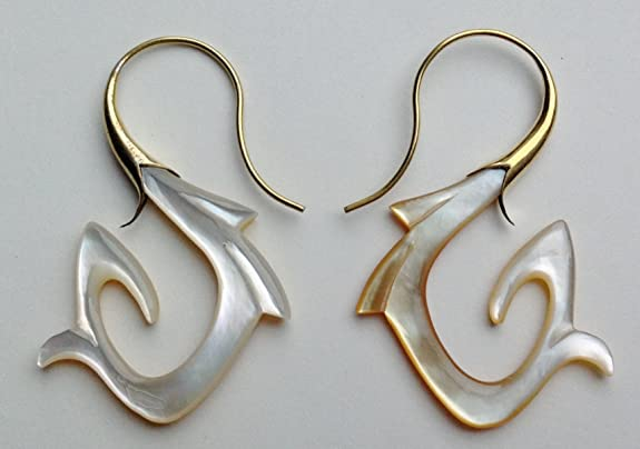 "Primal Distro ""Golden Swirls"" Tribal Earrings at Sears.com"