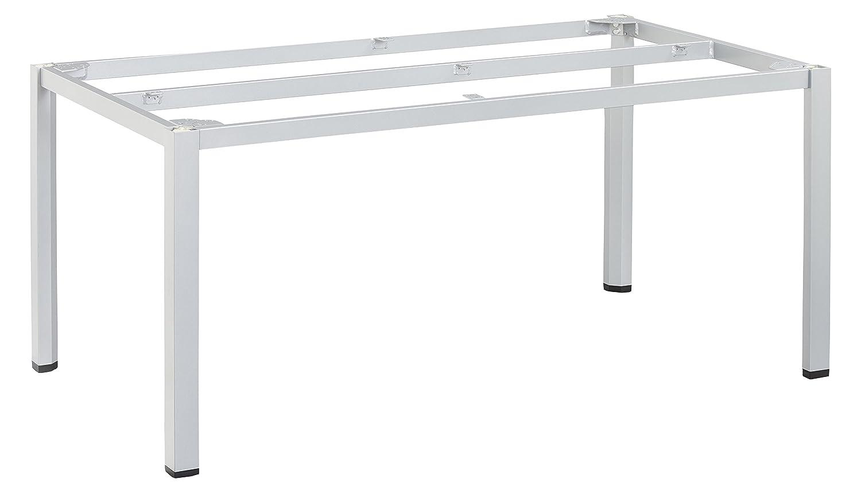 KETTLER Advantage Esstische Cubic-Tischgestell 160 x 95 cm Silber