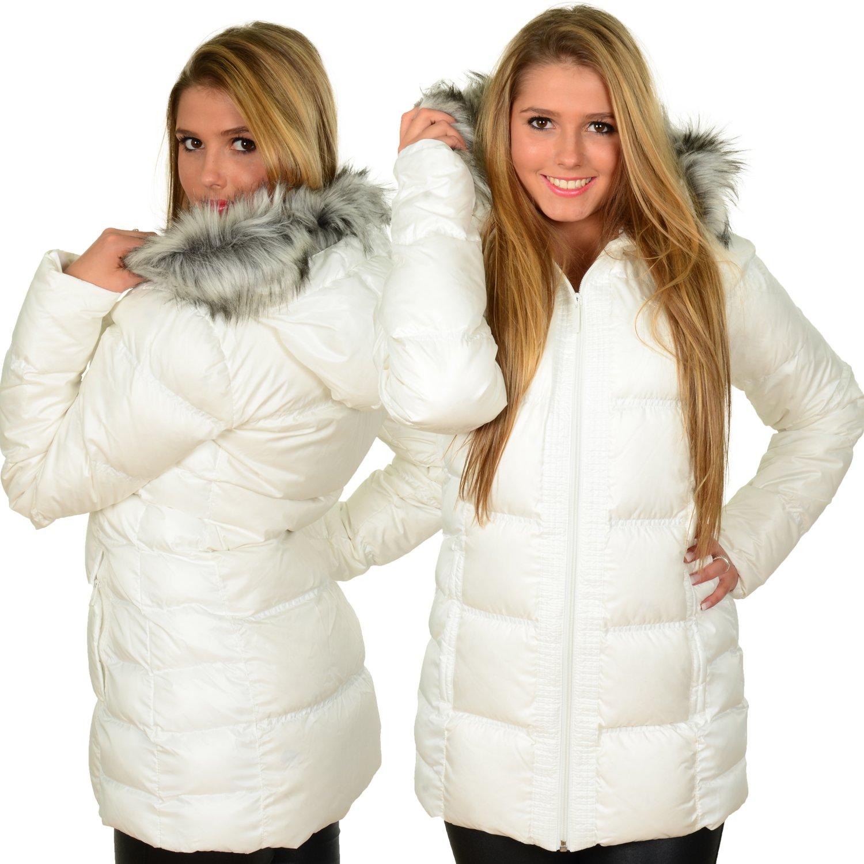 Adidas Fem Down Damen Winterjacke Weiß kaufen
