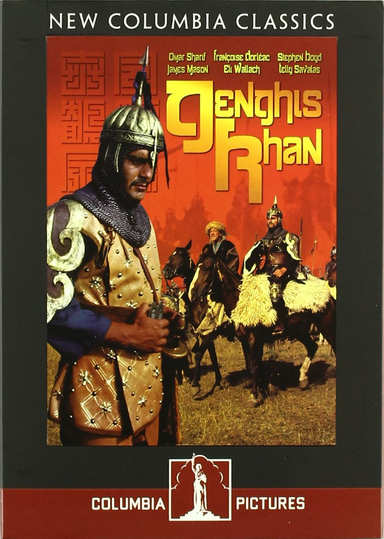 dvd genghis khan hingis khan dzingis kan portuguese subtitles special features interactive menu scene access synopsis the internationally produced historical epic genghis khan