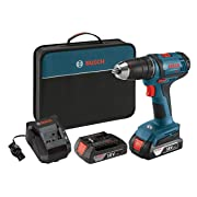 Bosch DDB181-02 18-Volt Lithium-Ion 1/2-Inch Compact Tough Drill/Driver Kit with 2 Batteries, Charger and Contractor Bag: Amazon.ca: Tools & Home Improvement