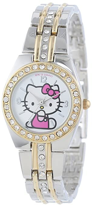 Sanrio Hello Kitty Women's HK1391 Two-Tone Bracelet Watch