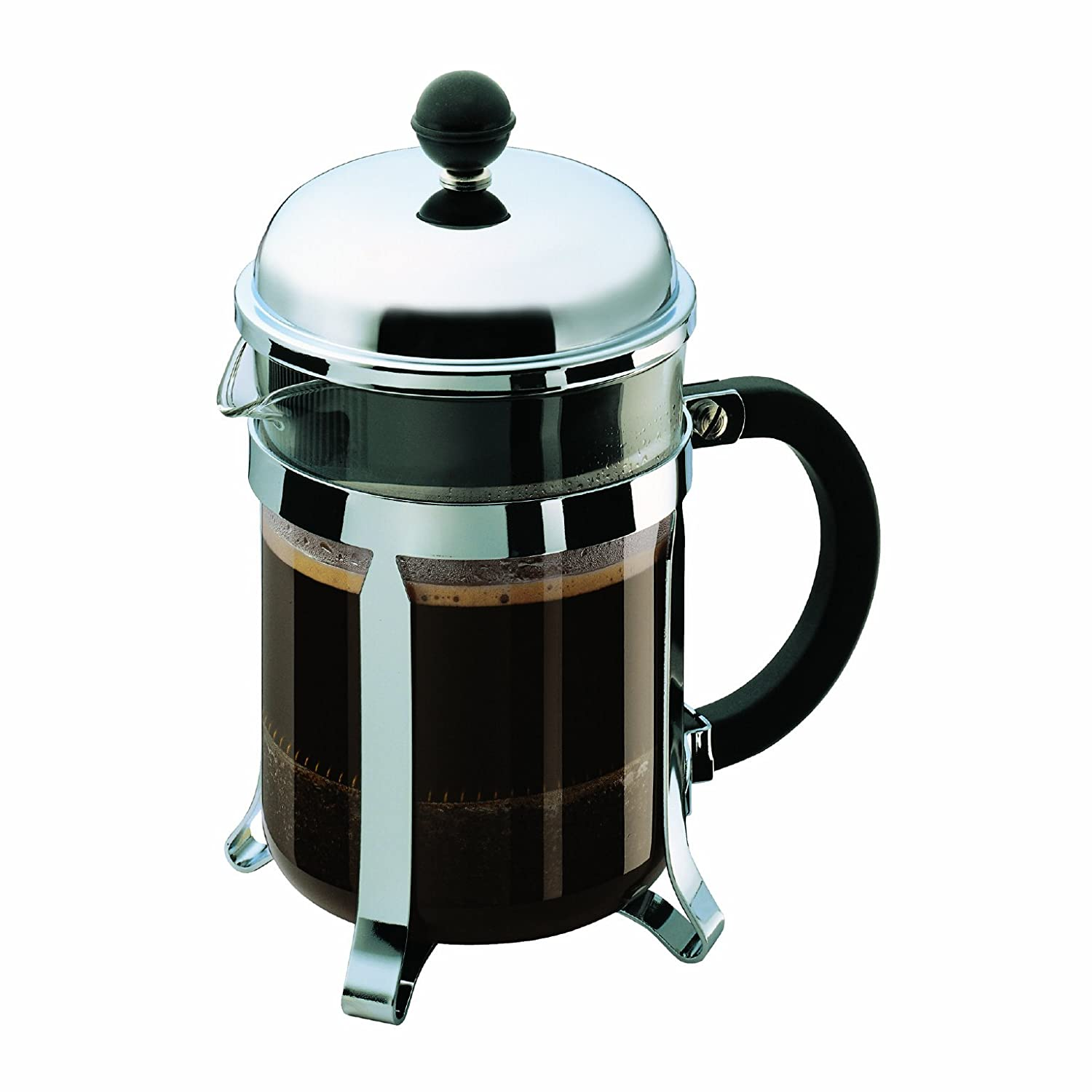 Bodum Chambord 4 Cup Shatterproof French Press Coffemaker, 0.5 l, 17-Ounce