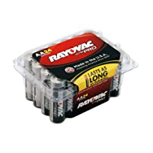 Rayovac UltraPRO Alkaline AA Batteries, ALAAA-24, 24-Pack