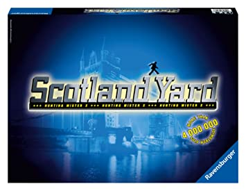Ravensburger - Jeux de Société - Scotland Yard - Langue: anglais