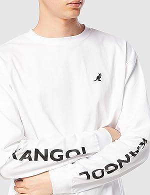 画像にマウスを合わせると拡大されます ブランド: KANGOL(カンゴール) [カンゴール] トレーナー 綿100% レイヤード 長袖Tシャツ KPMC-10115 メンズ