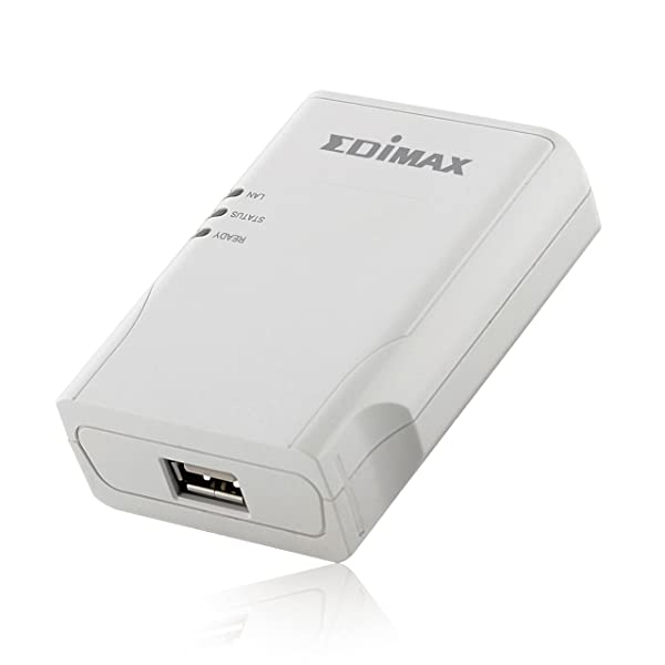 Edimax PS-1206MF Wired Network Print Server for All-in-One Multi-Function Printer