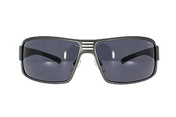 112 Herrenbrillen Sonnenbrille in Silber//Schwarz Motorad Bikerbrille Polobrille