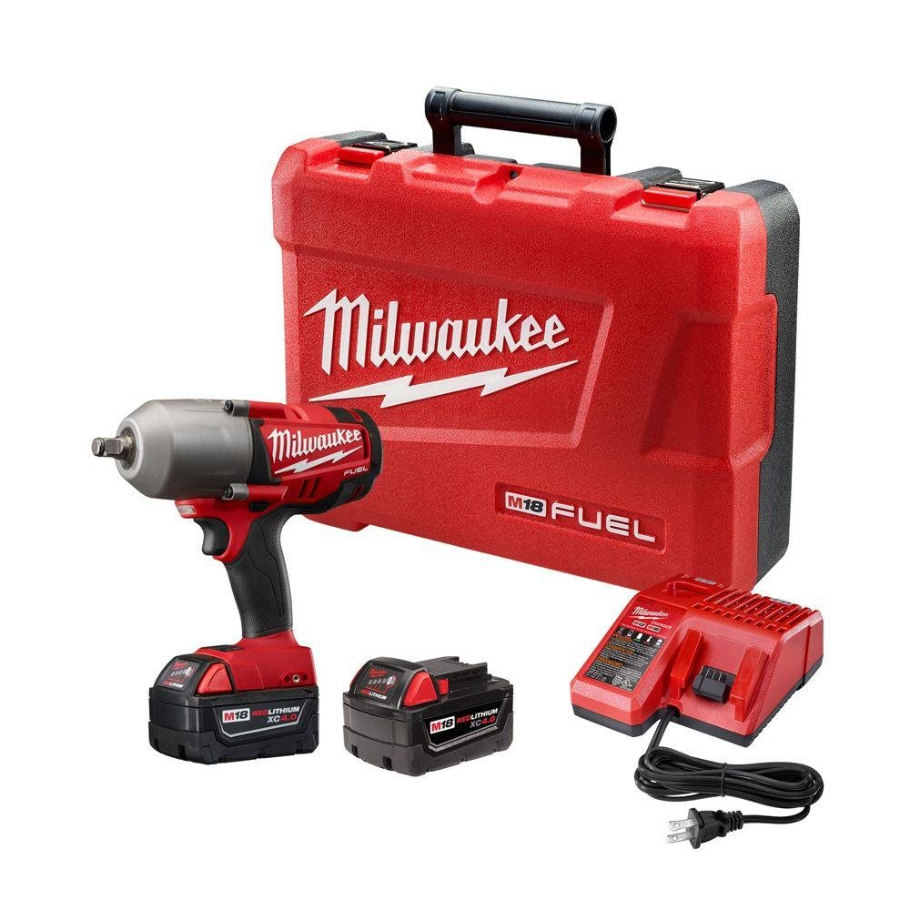 Milwaukee Electric Tool 2763-22 M18 Impact Wrench, 1/2