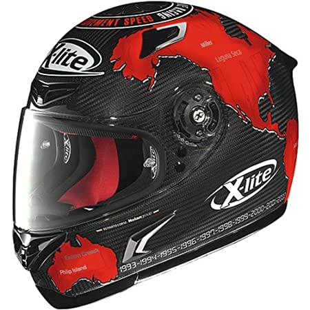 X-LITE - Casque X-802R Ultra Carbon Replica C.Checa Rouge