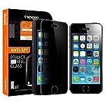 Amazon.co.jp: ** R ラウンド 加工 強化 ガラス ** Spigen 【 iPhone 5s / 5 / 5c 】 シュタインハイル GLAS.t R スリム プライバシー (0.4mm) リアル スクリーン プロテクター (覗き見防止 ガラス)【国内正規品】: 家電・カメラ