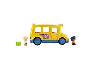 Fisher Price - BJT47 - Jouet Musical - Le Bus Scolaire