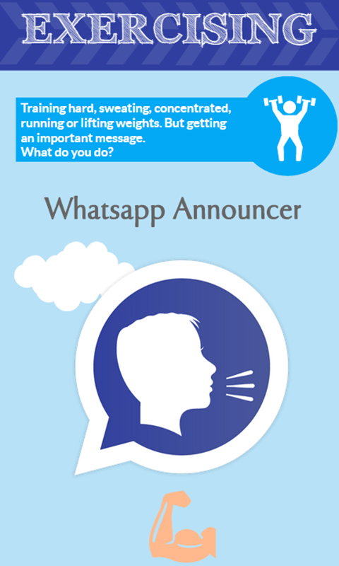 Amazon.com: Announcer for Whatsapp (Trial): Appstore for