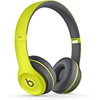 Beats by Dr. Dre Solo2 On-Ear 3.5mm Wireless Bluetooth Headphones (Yellow)