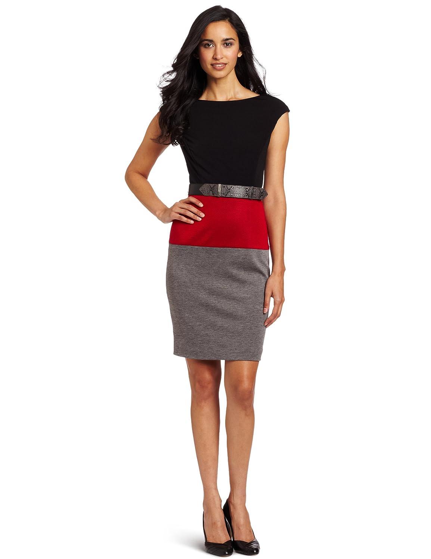 Best Colorblock Ponte Dress
